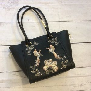 Foley + Corinna Taylor Embroidered Vegan Tote